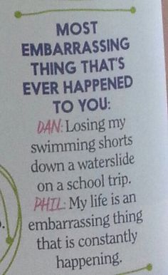 Phil understands me.<< tbh Phil is me.. I am an unhealthy combo of them both.....<<<I'm Phil