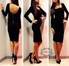 Black Dress <3 <3  www.facebook.com/locusstyle