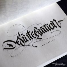 calligraphy & tattoo @theosone