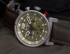 Hanhart Primus Survivor Pilot Watch: $3,500