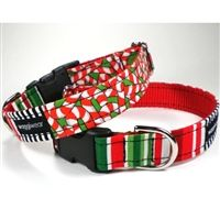 in our christmas collar boutique you will find a large variety of festive christmas dog collars