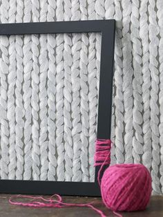 knit graphic wallpaper