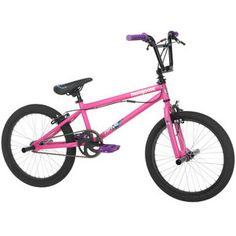 Mongoose Girl's 20'' Rave R10 BMX Bike