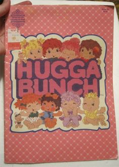 80's Era Hugga Bunch Doll/Toy (Cross Stitch) Designs by Gloria & Pat 1985
