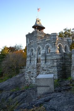 Belvedere Castle.....a castle in the middle of central park