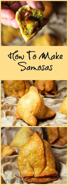 Weight loss help Craving a bit of spice in your life? These samosas are a popular Indian snack. Dough filled with a spicy potato and pea mixture are the perfect snack to have with tea.Craving a bit of spice in your life? These samosas are a popular Indian How To Make Samosas, Mezze, Comida India, Vegetarian Recipes, Cooking Recipes, Snacks Recipes, Cooking Games, Wrap Recipes, Recipies