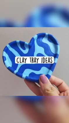 Diy Crafts To Do, Handmade Crafts, Diy Clay, Clay Crafts, Crafts To Do When Your Bored, Diy Gifts For Boyfriend, Diy Canvas Art, Clay Projects, Clay Creations
