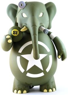 'US Corpsman Dr. Bomb' by Frank Kozik and Toy2R