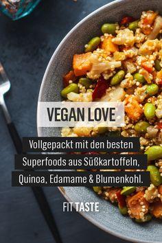 Edamame, Salmon Recipes, Veggie Recipes, Keto Recipes, Healthy Recipes, Vegan Foods, Vegan Dishes, Tasty Dishes, Keto Diet For Beginners