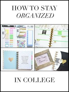 (Similar to my pins about being organized  in College) This article provides useful tips to be successful and organized for your college classes. #college