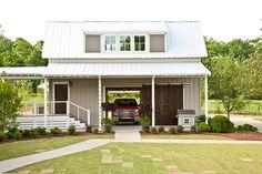 24x28 2 car garage with loft garage plans for farmhouses for Southern living detached garage plans