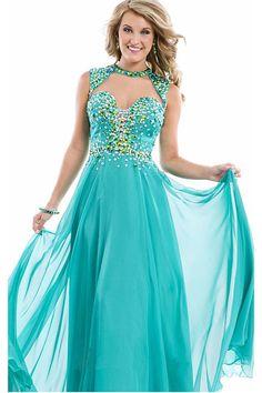 Chiffon Floor-length Backless Sweetheart Prom Dresses