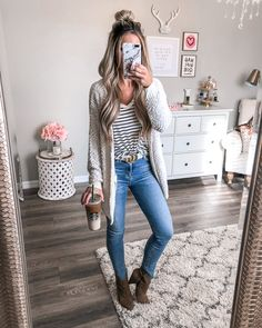 Fall outfits cute outfits for winter, casual women's outfits, tu Casual Winter Outfits, Trendy Fall Outfits, Summer Outfits, Comfortable Fall Outfits, Trendy Hair, Fall Outfits 2018, Outfit Winter, Casual Fall, Casual Church Outfits