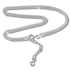 SilberDream anklet trhree rows ball chain, 925 Sterling Silver 9.45 inch SDF012 ** Read more reviews of the product by visiting the link on the image.