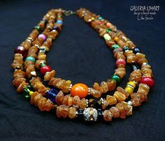 Baltic amber and colorful beads necklace. Rustic Boho. Baltic amber and colorful beads necklace. Rustic Boho,Boho beaded necklace Bohemian Jewelry,Boho Style,Boho Jewelry,Boho chic,Boho necklace