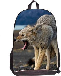 Supreme Women Men Casual Laptop Backpack Animal Horse Printing Shoulder Backpack Girls Boys Kids School Bags Mochila Feminina