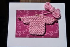 hand knit sweater card by LinneaKnits on Etsy, $8.50