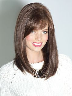 Noriko Wigs Seville | Synthetic Bob Cut Wig with Side Bang | Wigs.com - The Wig Experts™