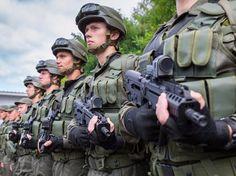 В России создается Национальная гвардия на базе Внутренних войск МВД
