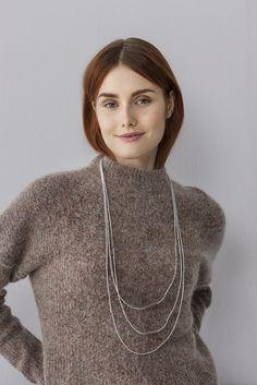 Loitsu necklace by Marianne Siponmaa. www.aarikka.com