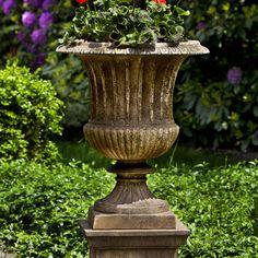 Campania International, Inc Smithsonian Novelty Pedestal Planter Finish: