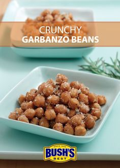 Keep your snack game strong while you stay home with these crunchy, cheesy garbanzo beans. Made with just five easy ingredients it's a perfect snack to whip up between episodes of your latest binge-watching obsession. Recipes Appetizers And Snacks, Yummy Snacks, Healthy Snacks, Snack Recipes, Cooking Recipes, Yummy Food, Superbowl Desserts, Bean Recipes, Vegetable Dishes