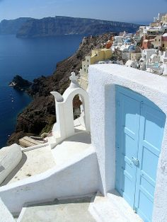 Oia is a community on the islands of Thira (Santorini) and Therasia, in the Cyclades, Greece. The population was 1,230 inhabitants at the 2001 census, and the land area is 19.449 km².