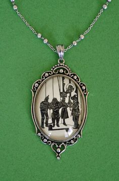 SALE 30% OFF // Coupon code: SALE30 // The Wizard of Oz Necklace, pendant on chain by tinatarnoff on Etsy https://www.etsy.com/listing/109129568/sale-30-off-coupon-code-sale30-the
