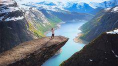 Trolltunga, Norge.