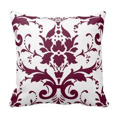 Beautiful Damask Pillow