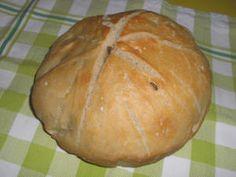 Petite miche de pain sur Poolish cuisson cocotte