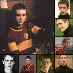 Oliver Wood. - Charming Quidditch captain ever! The reason I watch Harry Potter