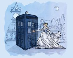 Time-Travelling Fairy Tales - Fairy Tale Characters Receive a Visit from the Doctor (GALLERY)