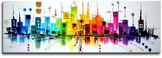 """Looking at it makes me happy  """"Colourful Skyline"""""""