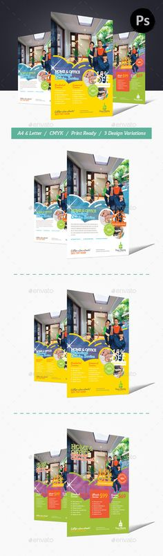 House Cleaning Flyer Templates Flyer template, Flyers and Design - house cleaning flyer template