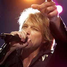 Bon Jovi singing Bed Of Roses