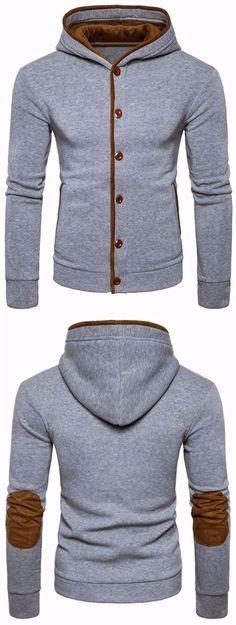 Abetteric Men Cowl Neck Leisure Style Plush Plus Size Top Tees Polo