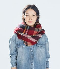 za Winter 2016 Tartan Scarf Desigual Plaid Scarf New Designer Unisex Acrylic Basic Shawls Women's Scarves hot sale za scarf