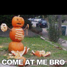 Thug Pumpkin