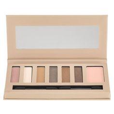 Palette de maquillage paupière et blush Natural Glow - The Beautyst = 9,90 €