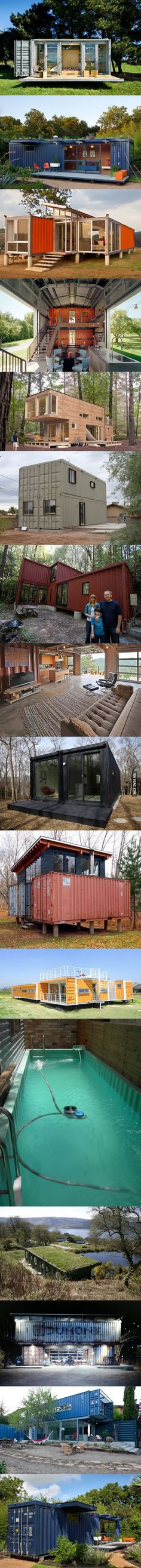 A used shipping container costs about $2K, after that it's up to you.