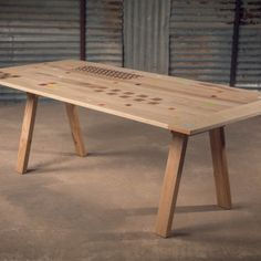 alon dodo wood furniture mixed table