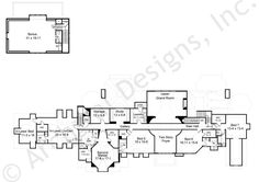 Chateau De Lanier House Plan - Lanier Second Floor Plan