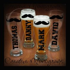 Personalize Beer Glasses