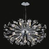 Found it at AllModern - Starburst 24 Light Crystal Chandelier
