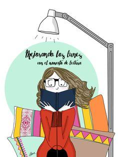 Mejorando los lunes con el momento de lectura.