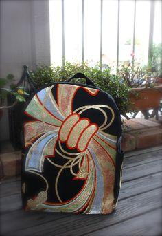 Obi / Kimoo / Backpack / BK788 Gorgeous Silk Obi Backpack