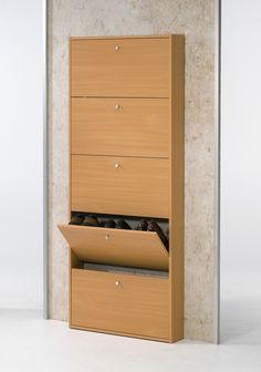 Tvilum Springfield 5-Drawer Shoe Cabinet in Beech - Wayfair