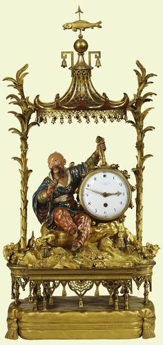 Charles-Guillaume Manière (active 1778-1812) (clockmaker (original movement)) Creation Date: 1785 Materials: Gilded and chased bronze, polychrome lacquer, enamel Royal Collection © Her Majesty Queen Elizabeth II