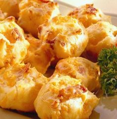 Recipe For  Bacon Cheddar Puffs